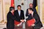 Premier Li Keqiang and PM Charles Michel Witness signing between CCPIT & BCECC