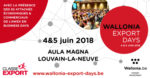 Wallonia Export Days - Visit our stand!