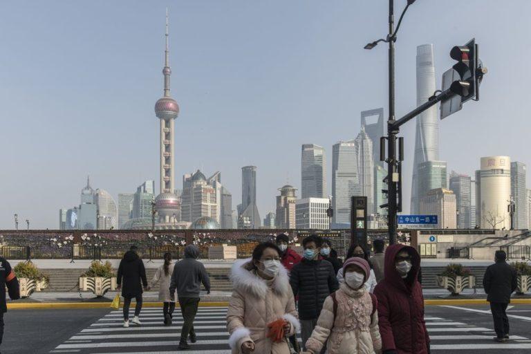 Post Lockdown image of Shanghai